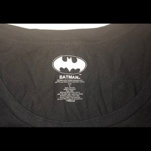 Torrid Batman Shirt with Gold Logo